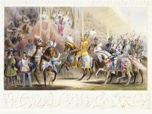 The Presentation of the Knight, 1843 by James Henry Nixon