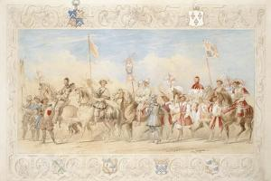 Walter Little Gilmour Esq., the Black Knight and Hon. Edward Stafford Jerningham, Knight of the… by James Henry Nixon