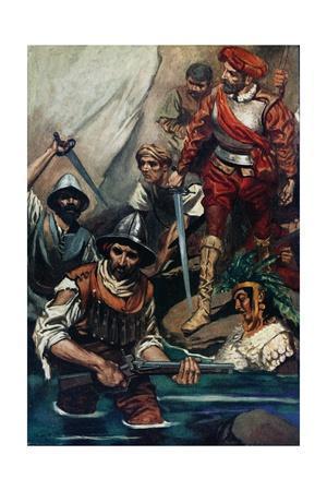 Cortes and His Men at the Gap