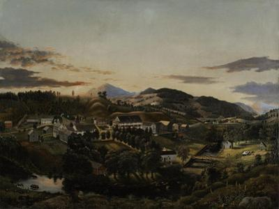 Clarendon Springs, Vermont, 1853 by James Hope