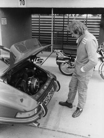 James Hunt with a Porsche, C1972-C1973