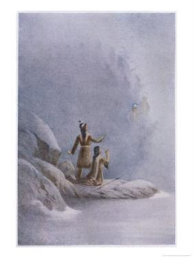 Chinook Legend of the Supernatural People Who Appeared in the Mists by James Jack