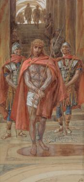 Christ Leaves the Judgement Hall for 'The Life of Christ' by James Jacques Joseph Tissot
