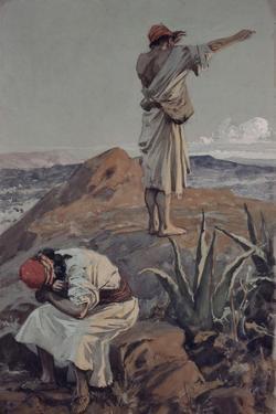 Elijah from Mount Carmel Sees a Cloud Afar Off by James Jacques Joseph Tissot