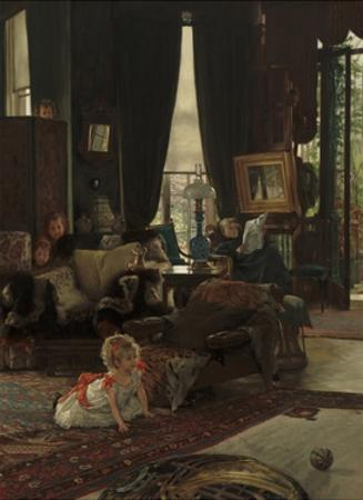 Hide and Seek, 1877 by James Jacques Joseph Tissot