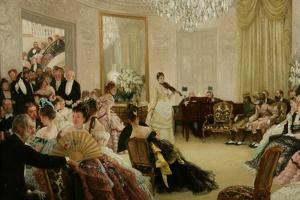 Hush! (The Concert), c.1875 by James Jacques Joseph Tissot