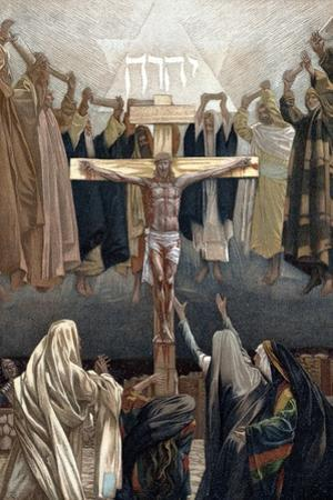 It Is Finished: Christ's Last Words from the Cross, C1890 by James Jacques Joseph Tissot