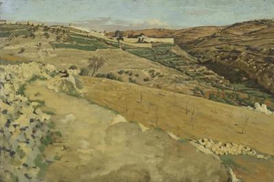 Jerusalem and Siloam, South Side from 'The Life of Our Lord Jesus Christ' by James Jacques Joseph Tissot