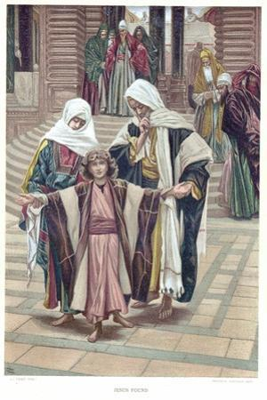 Jesus Found, C1897 by James Jacques Joseph Tissot