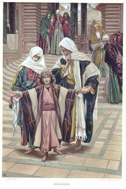 Jesus Found, C1897 by James Jacques Joseph Tissot