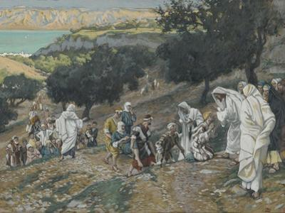 Jesus Heals the Blind and Lame on the Mountain from 'The Life of Our Lord Jesus Christ'