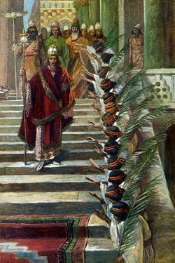 Mordecai 's Honour by J James Tissot - Bible by James Jacques Joseph Tissot