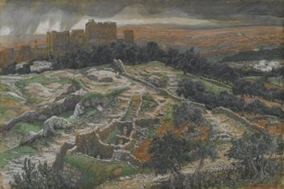 Reconstruction of Golgotha and the Holy Sepulchre by James Jacques Joseph Tissot