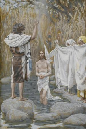 The Baptism of Jesus from 'The Life of Our Lord Jesus Christ'