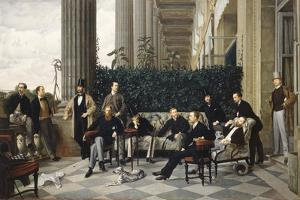 The Circle of the Rue Royale, 1868 by James Jacques Joseph Tissot