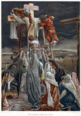 The Descent from the Cross, C1890 by James Jacques Joseph Tissot