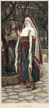 The Magnificat, C1890 by James Jacques Joseph Tissot