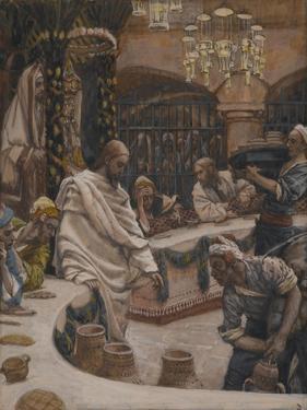 The Marriage at Cana from 'The Life of Our Lord Jesus Christ' by James Jacques Joseph Tissot