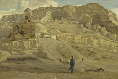 The Mokattam from the Citadel of Cairo from 'The Life of Our Lord Jesus Christ' by James Jacques Joseph Tissot
