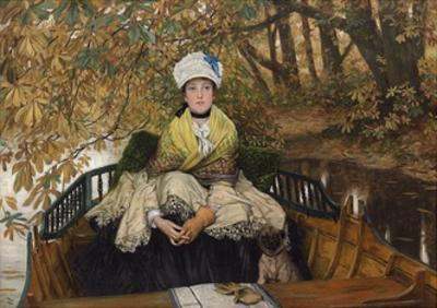 Waiting by James Jacques Joseph Tissot