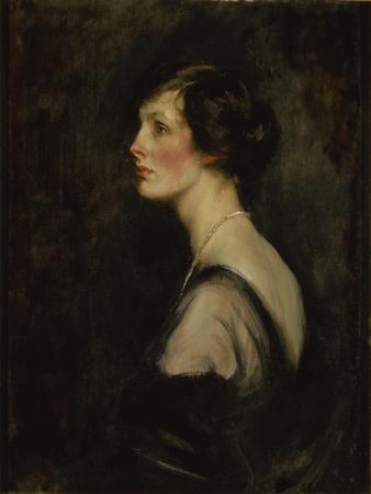 Portrait of Mary Gascoigne-Cecil When Marchioness of Hartington, c.1917-18