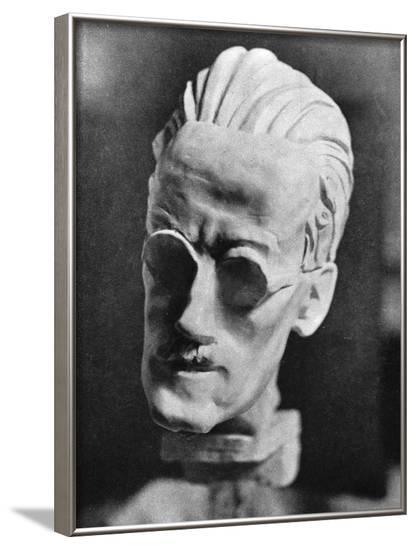 James Joyce, Sava Bronze--Framed Photographic Print