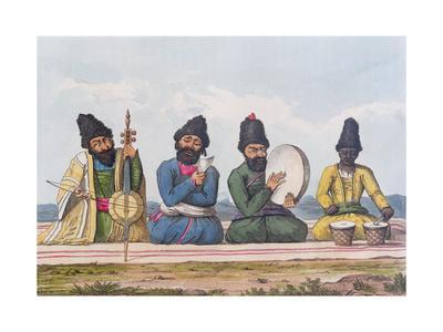 Persian Musicians from A Second Journey Through Persia 1810-16