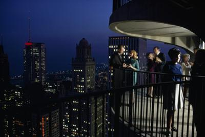 Chicago, Illinois, Fifty-Two Stories High, City Noises Fade and Vistas Expand