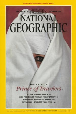 Cover of the December, 1991 National Geographic Magazine by James L. Stanfield