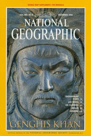 Cover of the December, 1996 National Geographic Magazine by James L. Stanfield