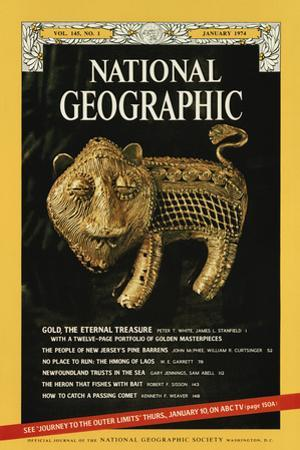 Cover of the January, 1974 National Geographic Magazine