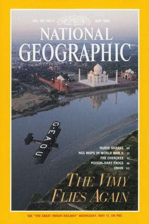 Cover of the May, 1995 National Geographic Magazine by James L. Stanfield