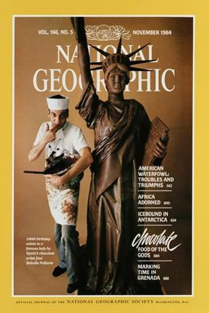 Cover of the November, 1984 National Geographic Magazine by James L. Stanfield