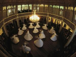 Dancing Dervishes, Istanbul, Turkey by James L. Stanfield
