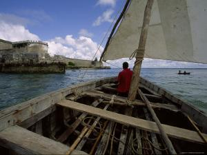 Sailing Around Fort Sebastian, Mozambique by James L. Stanfield