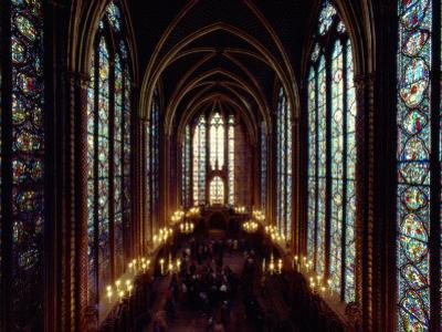 Sainte-Chapelle Cathedral Interior