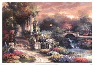 Sunset Garden Retreat by James Lee