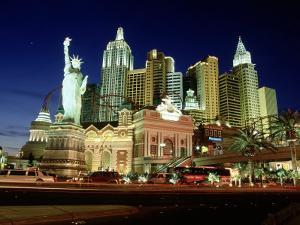 New York New York, the Strip, Las Vegas, NV by James Lemass