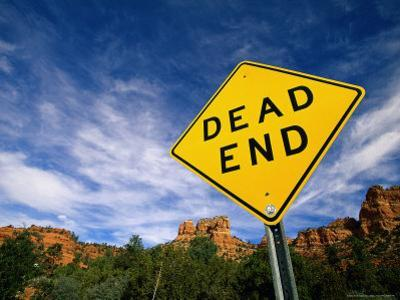 Road Sign, Dead End