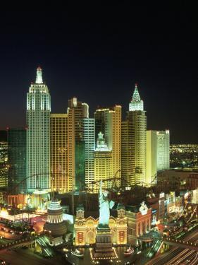 View of New York New York Resort, Las Vegas, NV by James Lemass