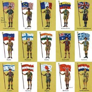 """International Boy Scouts,"" July 23, 1960 by James Lewicki"