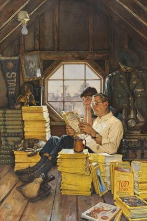 James Gurney Illustrates a Promotion of the One Hundred Years Index by James M. Gurney