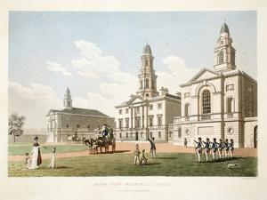 Blue-Coat Hospital, Dublin, 1798 by James Malton