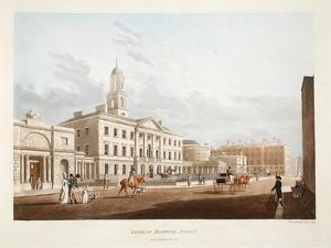 Lying-In Hospital, Dublin, 1795 by James Malton