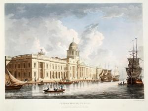 The Custom House, Dublin, 1792 by James Malton
