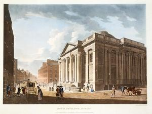 The Royal Exchange, Dublin, 1792 by James Malton