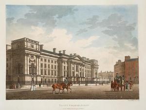 Trinity College, Dublin, 1793 by James Malton