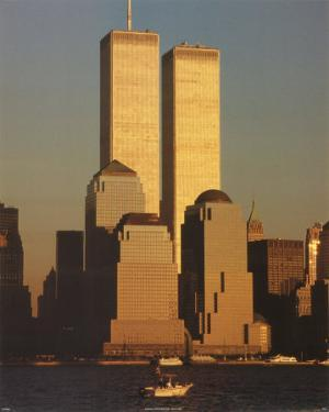 The Twin Towers by James Marshall