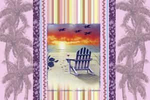 Sunset Chair Palm by James Mazzotta