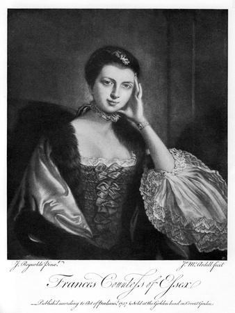 Frances, Countess of Essex, 1757